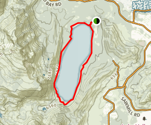 Fallen Leaf Lake Trail Map