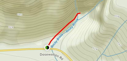 Rocky Brook Falls Map