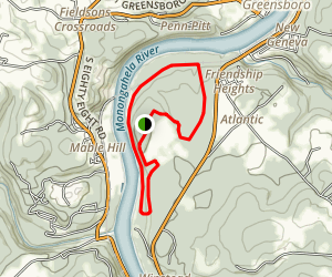 Friendship Hill Tour And Hike Map