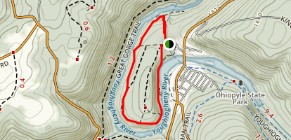 Ferncliff Trail Map