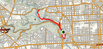 Gwynns Falls Trail Map