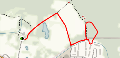 Farm Road Trail and Chickadee Loop Map