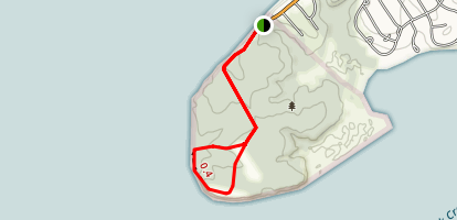 Turkey Point Lighthouse Trail Map