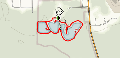 Three Lakes Park Trails Map