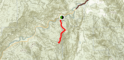 Remington Ridge Trail to Lightner Peak Map