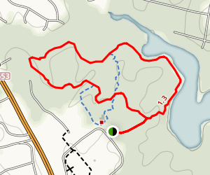Rockwood Park Trails Map