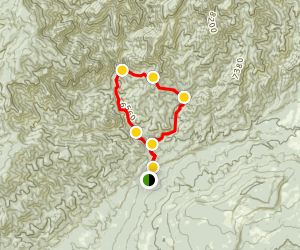Beaver Creek Loop Trail Map