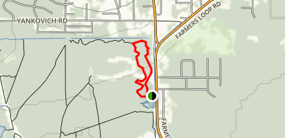 Ballaine Lake Trail Map