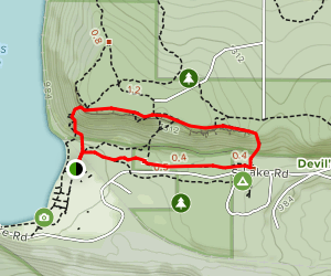 Devil's Doorway Loop Map