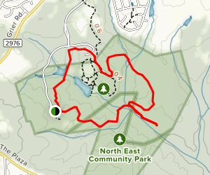 Reedy Creek Nature Preserve Trail Map