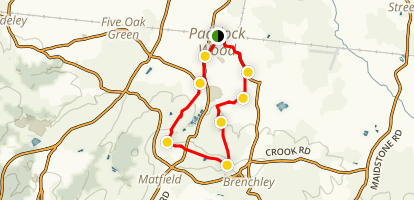 Paddock Woods Orchards Trail Map