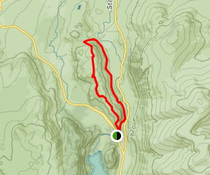 Saint Johns in the Vale Trail Map