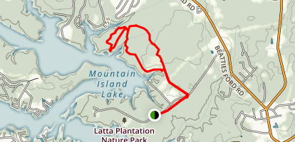 Mountain Island Lake Trail Map