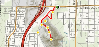 Lone Mountain Trail Map