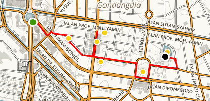 Finding Nature in Jakarta Map