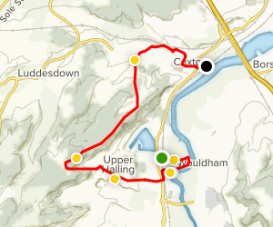 Medway Valley Rail Trail: Halling to Cuxton Map