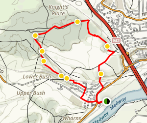 Coppice & Corncockle Trail Map