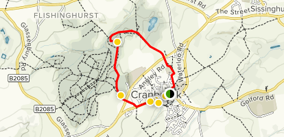 Cranbrook North Loop Map