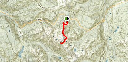 Leavitt Peak Map