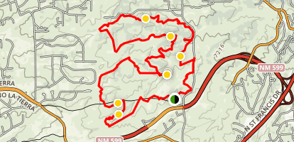 La Tierra Trails Map