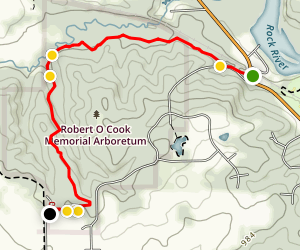 Ice Age Trail: Arbor Ridge Map
