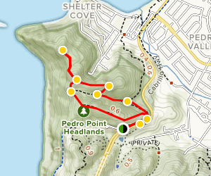 Pedro Point Headlands Trail Map