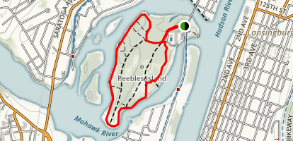 Peebles Island Perimeter Trail Map