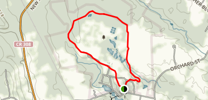 Five Rivers Environmental Education Center Loop Trail Map