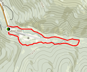 Monument Creek Trail Map
