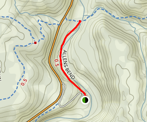 Allens Bend Trail Map