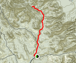 Dry Creek Road Trail Map