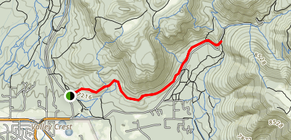 Rocky Ridge Trail Map
