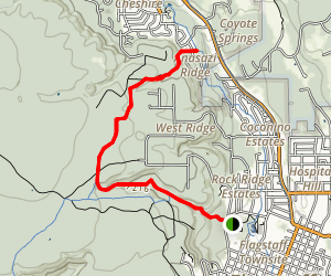 Observatory Mesa Trail Map
