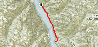 Chelan Lakeshore Trail Map