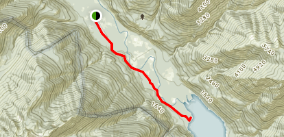 Stehekin River Trail Map
