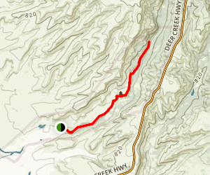 Yahi Trail Map