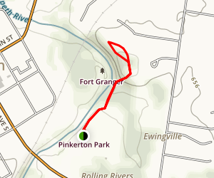 Fort Granger Trail Map