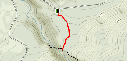 Racehorse Falls Trail Map