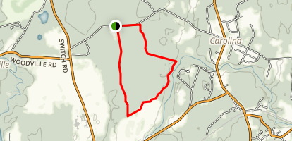 Carolina Management Area South Loop Trail Map