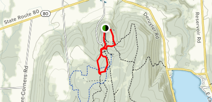 Highland Forest Nature Trail Map
