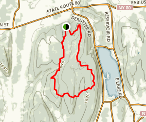 Highland Forest Main Trail Map