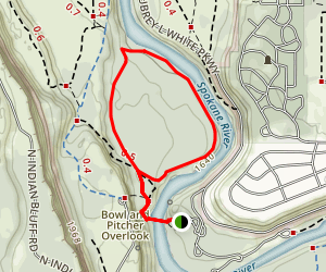 Bowl and Pitcher Loop Trail Map