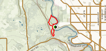 Riverside State Park Loop Map