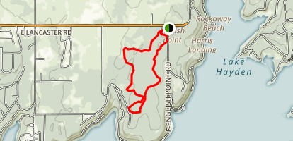 English Point Yellow Loop Trail Map