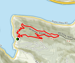 Mineral Ridge National Recreation Trail Map