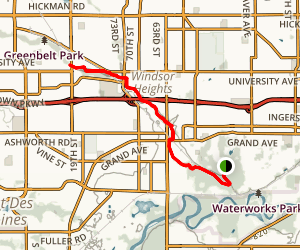 Walnut Creek Trail Map