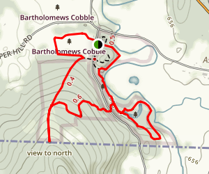 Bartholomew's Cobble Trail Map