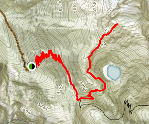 Cascade Pass and Sahale Arm Trail Map