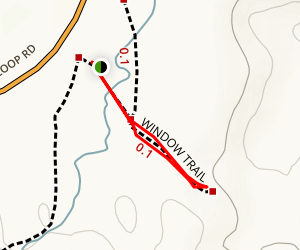The Window Trail Map