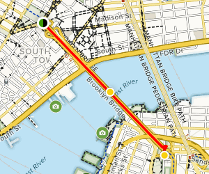 Brooklyn Bridge Walk Map